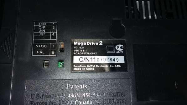 SEGA Mega Drive 2 -Игровая приставка +30 Картриджей в 1лоте! в Москве фото 5