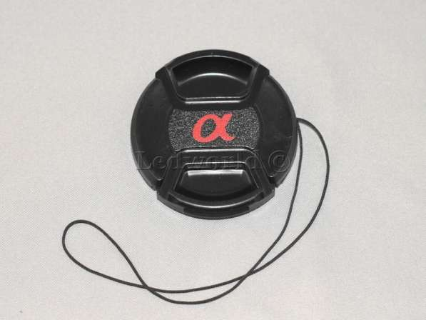 Крышка со шнурком для Sony 55mm