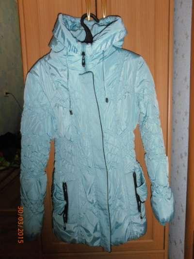 куртка весна осень 40-42