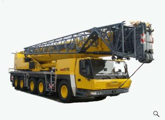 Аренда автокрана 170 тонн 64(98) метра GROVE GMK 5170