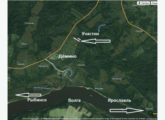 Земельный участок ИЖС 18 сот., д. Дёмино, Ярославская обл.
