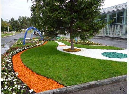 Цветной декоративный камень в Кемерове фото 9