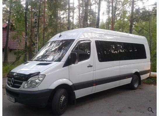 Заказ и аренда микроавтобуса Mercedes Sprinter(18-20 мест) в Новосибирске