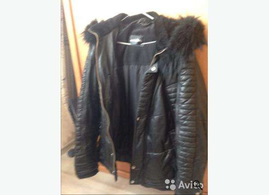 Куртка зимняя кожанная MONDIAL в Красноярске фото 3