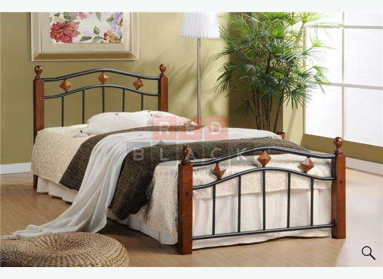 Односпальная кровать из массива гевеи 126 (Hilda)