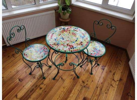 Мебель кованная мансардная садовая в Новосибирске
