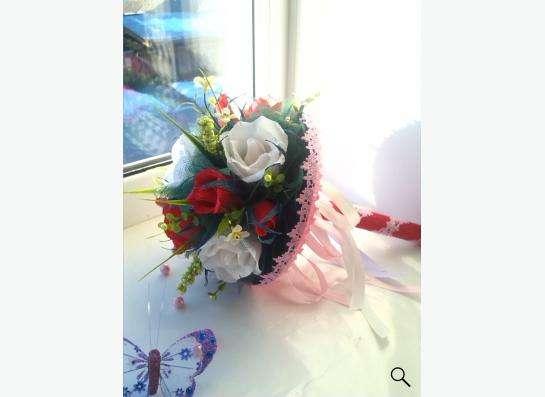 изготовление букетов ,корзинок из цветов ручной работы в Екатеринбурге фото 8