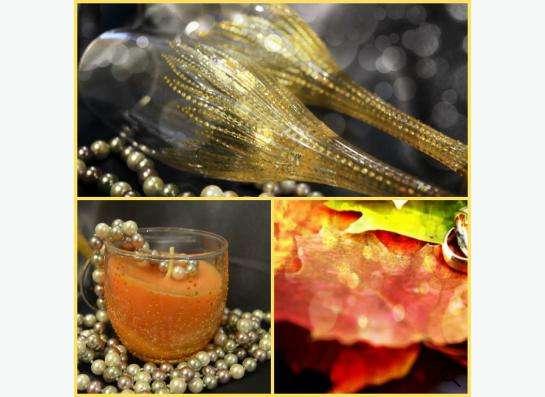 «Свадебные бокалы и свечи»