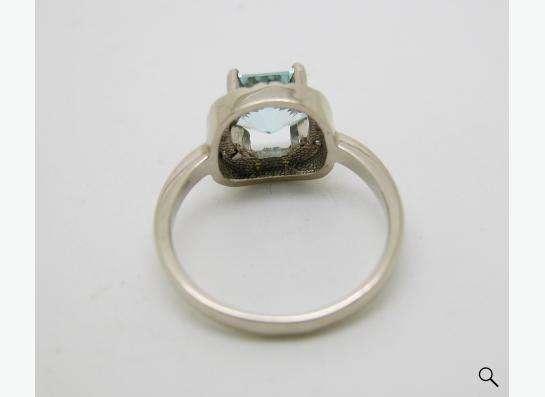 Золотое кольцо с принцессой Топаза и бриллиантами. в Москве фото 7