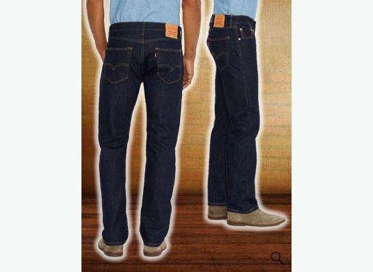 Прочные джинсы Levis 505 W38L32 в Москве