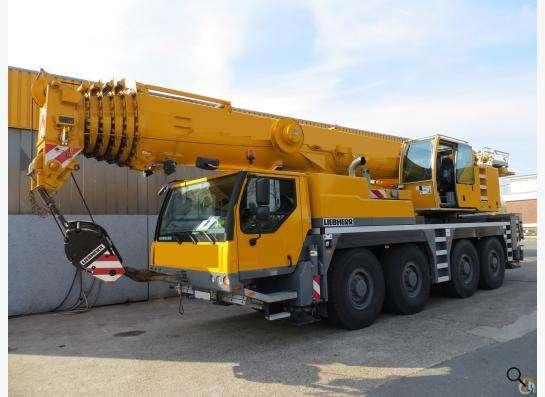 Аренда автокрана 90 тонн 50(69) метров Liebherr LTM 1090