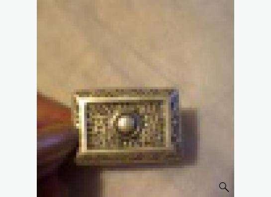 кольцо из состаренного метала