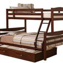 Кровать Двухъярусная из натурального дерева ольхи Барс, в г.Одесса