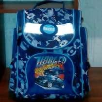Рюкзак синий, удобно для школы, в Раменское