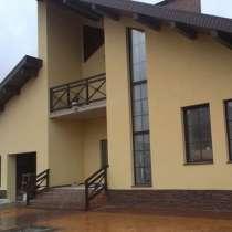 Мокрый фасад, в Казани