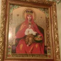 Вышивка бисером Икона Богородица, в Санкт-Петербурге