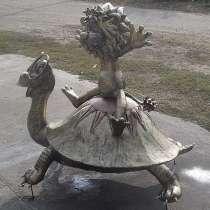 Львенок и Черепаха из мультфильма-скульптурная композиция из, в Краснодаре