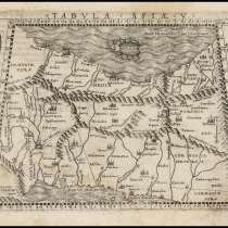 Карта Азии. 1548 г, в Октябрьском