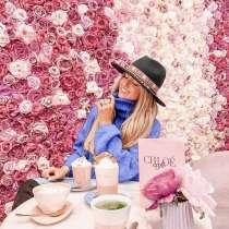 Ароматный кофе в ярком кафе Chloe, в Санкт-Петербурге