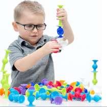 Конструктор-присоска «Lapka» детский творческий набор, в Москве