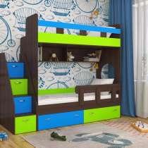 Кровать 2-х ярусная Юниор разные цвета, в Екатеринбурге