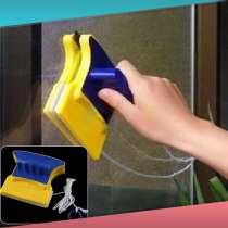 Магнитная щетка для мытья окон С двух сторон, в г.Новороссийск