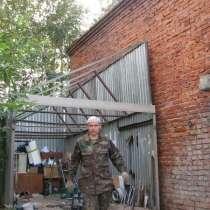 Ремонт ракушек, гаражей, пеналов, тентов - укрытий. Ремонт ворот, крыши, кровли. Грузоперевозки., в Москве