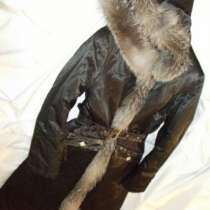 меховое пальто кожа натуральный мех, в г.Кемерово