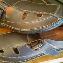 Кожаные летние туфли, в г.Королёв