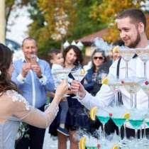 Горка из шампанского/Пирамида шампанского на велком, в Краснодаре