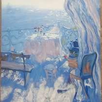 """Картина """"Терасса"""", 50х60см, холст, масло, в г.Киев"""