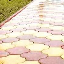 Благоустройство. Укладка тротуарной плитки (брусчатки), в Новосибирске