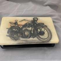"Шкатулка-купюрница ""Ретро мотоцикл.1935"", в Кудрово"