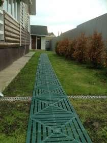 Садовая плитка из пластика для дорожек, в Москве