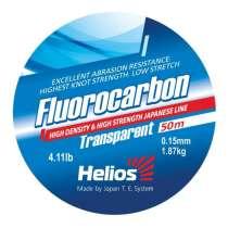 Леска Helios FLUOROCARBON Transparent, в Челябинске