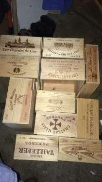 Деревянные ящики из под вина, в Санкт-Петербурге