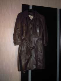 Пальто кожаное, в Тюмени