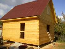 Строительство домов и бань из профилированного бруса, в Гатчине