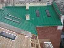 Кровельные и фасадные работы, монтаж мансардных окон, в Новосибирске