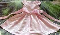Платье розовое для девочки 5-6лет, в Абакане