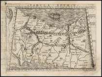 Карта Азии. 1548 г, в г.Октябрьский