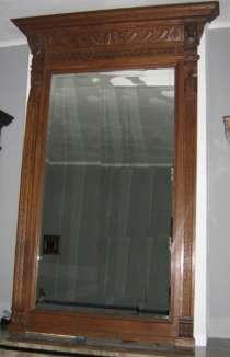 Антикварное зеркало в стиле Ренессанс Западная Европа, Бельгия Зеркало в раме, в Ростове-на-Дону