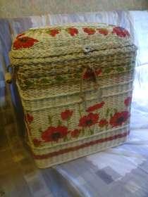 Плетеный короб для хранения вещей, в Москве