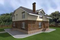 Готовый проект таун-хауса 277кв. м / Артикул АС-82, в Перми