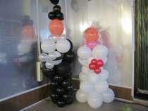 Жених и невеста из шаров, в Смоленске