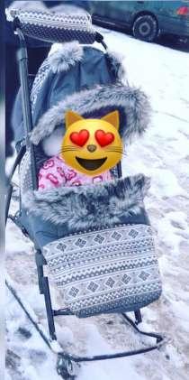 Санки коляска, в Москве