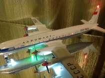 Модель самолёта ИЛ-18, в Иркутске