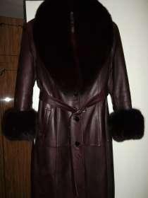 Пальто кожаное, в г.Джанкой