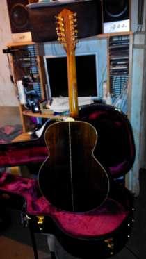 12 струнная гитара с фирменным кофром, в Зеленограде