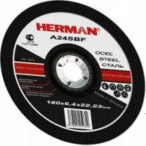 Абразивный отрезной круг HERMAN STANDART 180х2,0х22,23мм, в Дмитрове
